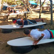 First surf lesson