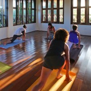Yoga Session in our Yoga Studio
